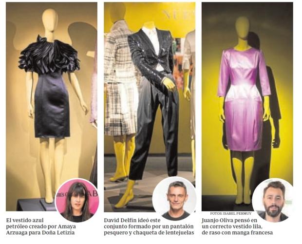 """Fotografía ABC 14-05-2014."""" Doña Letizia dona al Museo del Traje ocho vestidos sin estrenar"""""""