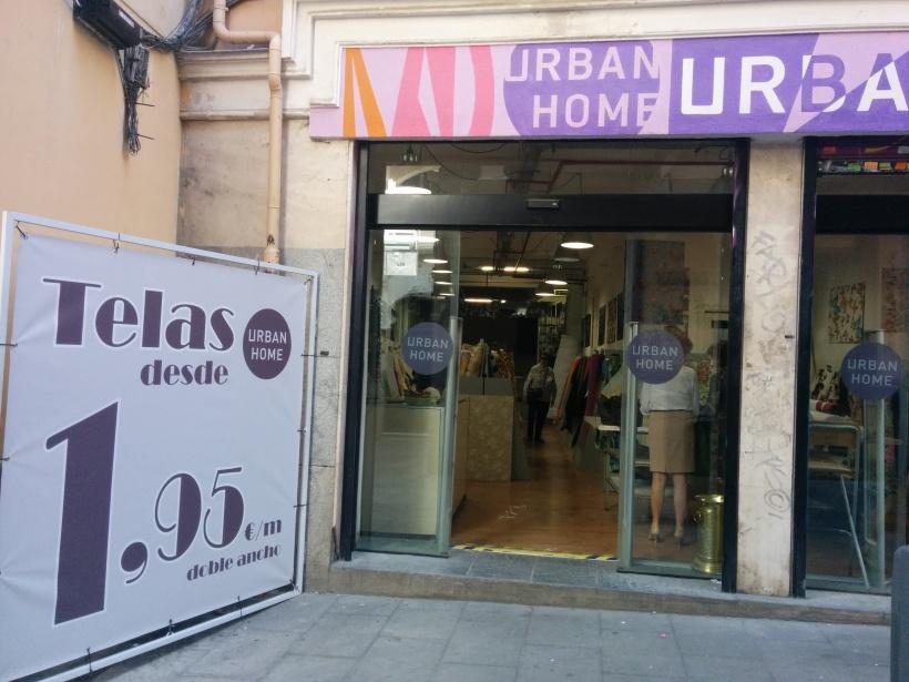 Tienda telas y cosas para el hogar.. Madrid