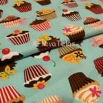 Tela cupcake artevatelas patrones y handmade