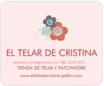 el telar de cristina, handmade, tienda craft, tienda tela online, patrones y handmade