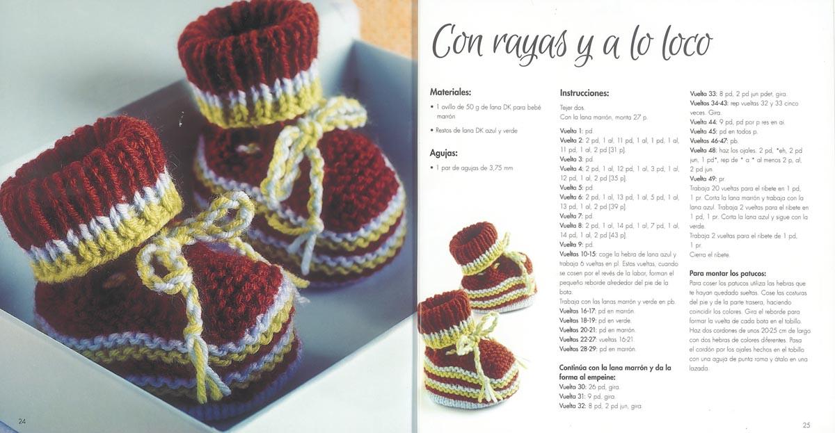 Tejer: Patucos para bebés II – Patrón de patuco para descargar ...
