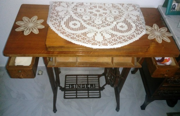 mueble máquina singer patrones y handmade