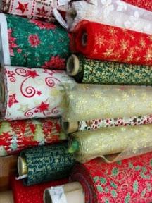 diy telas de navidad, ribes&casals