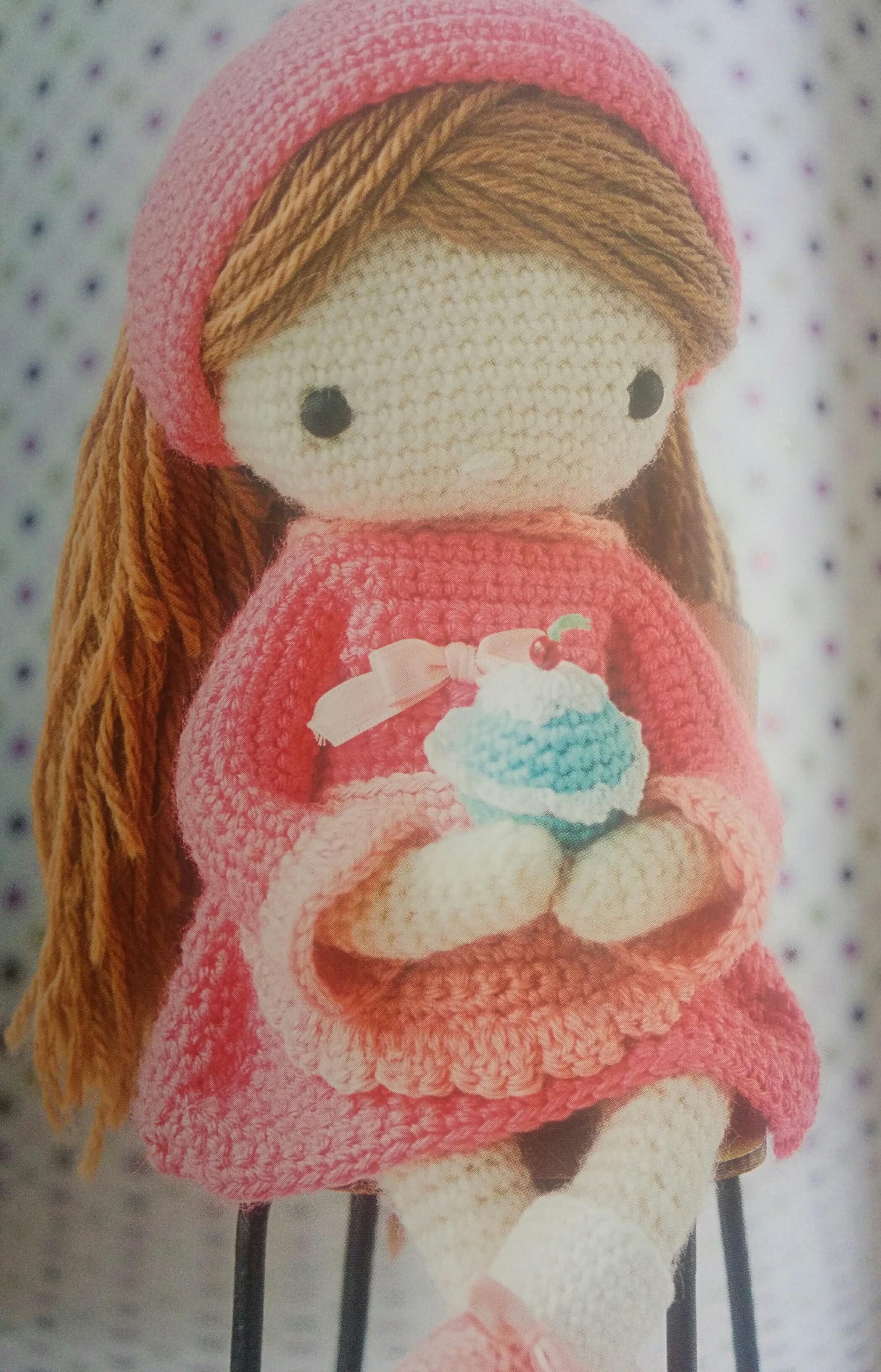 Libro amigurimis: Mi muñeca de Ganchillo – Patrones y Handmade