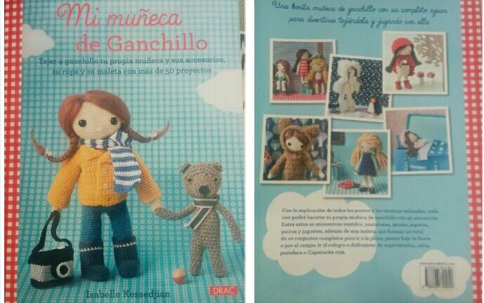 Libro amigurimis: Mi muñeca de Ganchillo (1/4)