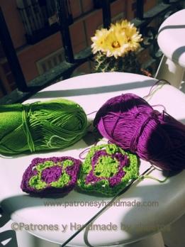 Ganchillo o crochet para patchwork