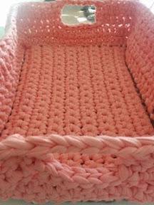 Cómo tejer las asas de la cesta