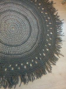 tutorial diy alfombra trapillo ganchillo