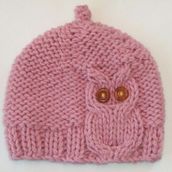 Knitting Pattern For Owl Beanie : 1000+ images about Knitting on Pinterest Knitting patterns, Baby poncho and...