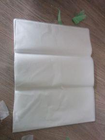Pliegos de seda para hacer pompón