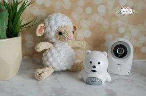 amigurumi cordero, oveja, ovejita de crochet