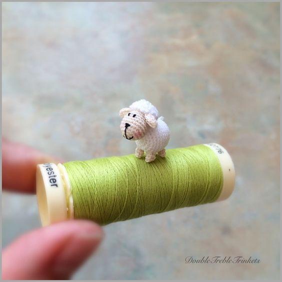 Patrones de Ovejas y ovejitas de crochet – Amigurimis – Patrones y ...