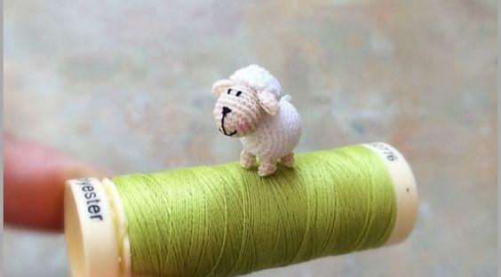Patrón de oveja mini, micro oveja